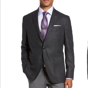 NEW Ted Baker Endurance Trim Fit Wool Sport Coat
